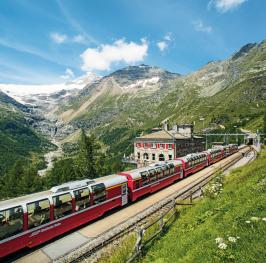 Bernina Express © Switzerland Tourism